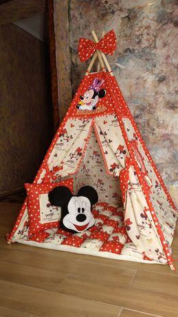"""Вигвам домик детская палатка """"Микки Маус"""""""
