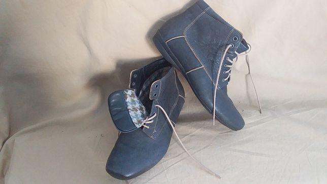 Ботинки для девочки подростка.женские-кожа-деми-Тhink9Австралия)-37;