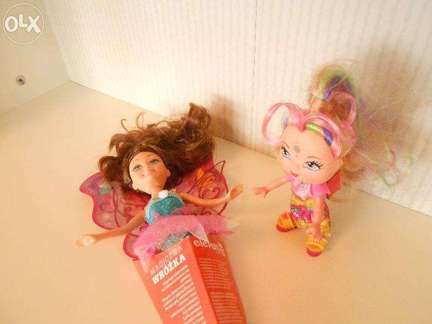 Dwie lalki Barbi Steffi lalka wróżka chinka