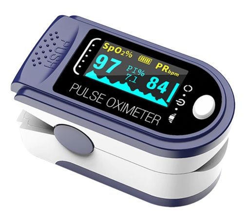 Medyczny Pulsoksymetr napalcowy. Pulsometr OLED