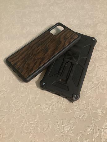 Pokrowce Samsung Galaxy A71 Drewniany Pancerny ( Armor )