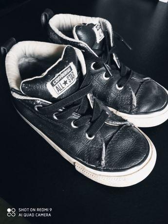 Converse buty skórzane