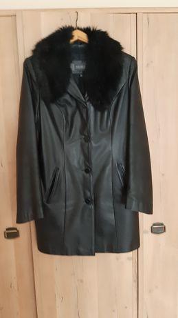 Płaszcz skórzany rozm.XL