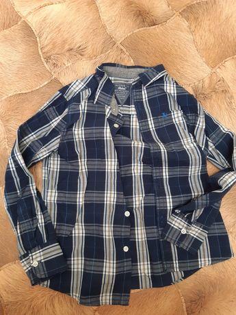 Багато рубашок на хлопчика розміри з 122 до 140