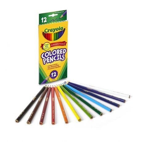 Цветные карандаши Crayola, 12 шт Оригинал