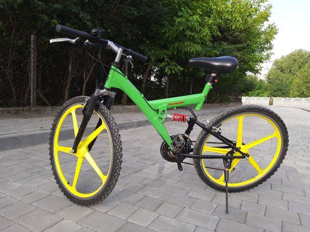 """Німець. Велосипед Kawasaki, колеса 26"""", чудова амортизація."""