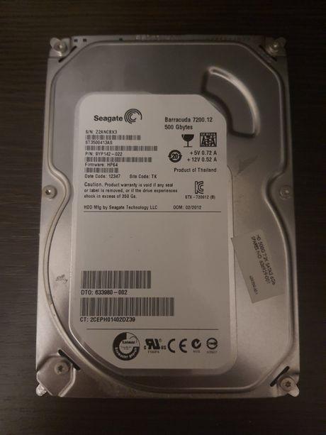 Жесткий диск Seagate 3.5 SATA 500Gb WD 7200prm