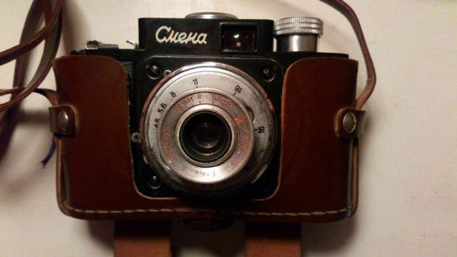 пленочный фотоаппарат Смена - раритет