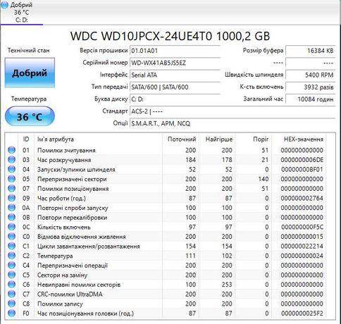 """HDD 1TB 2.5"""" на SSD 240GB 2.5"""""""