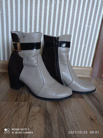 Продам натуральні осіннь-весняні ботиночки