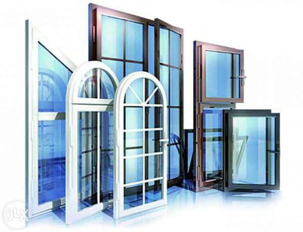 Окна - двери, балконы, стеклопакеты и комплектующие.
