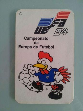 Calendário euro84 1984
