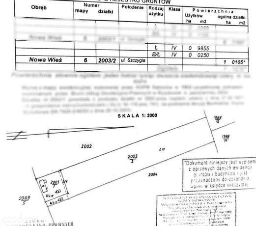 Działka budowlano-rolna 10105m2 Myszków