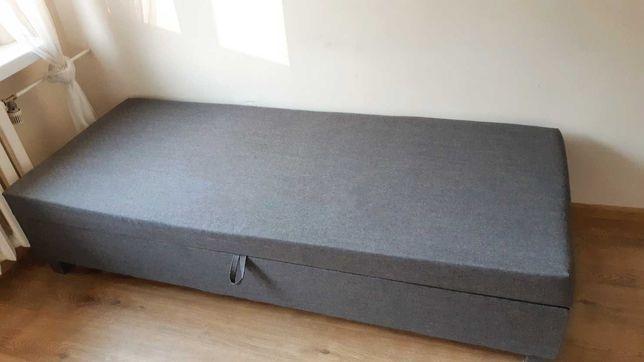 Tapczan łóżko z pojemnikiem na pościel