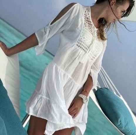 Пляжная туника накидка халат Victoria's Secret купальник туники бикини