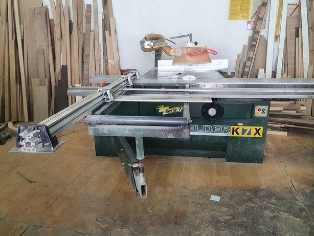 Piła formatowa Felder K7X 1997r z podcinakiem