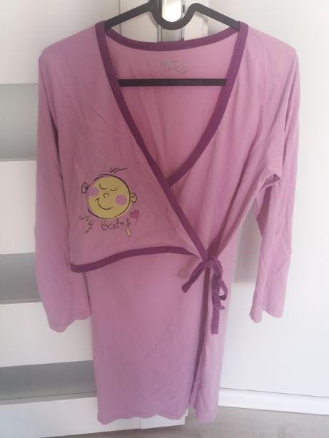 Koszula nocna ciążowa do karmienia S
