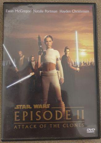 DVD диск Звездные войны - Episode II