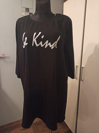 Sukienka tunika oversize