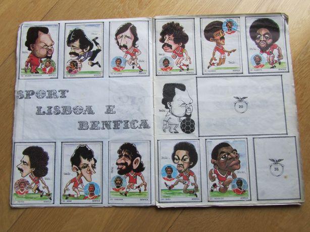Caderneta de cromos da futebol - época 1979-80