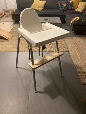 Krzeselko ikea antilop poduszka podnozek alaantkowe