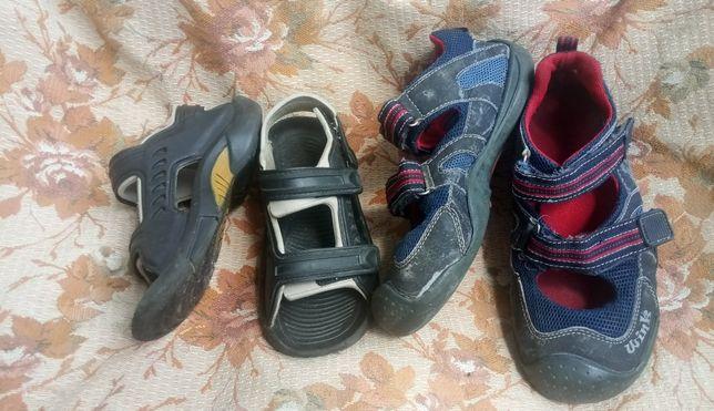 отдам даром обувь мальчику 18см и 21.5