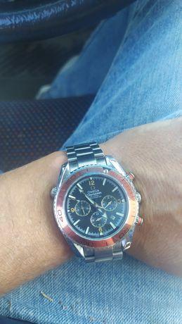 """Relógio """"Omega"""" automático, inox,"""