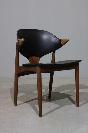 Cadeira Arne Vodder em teca   Cadeira design