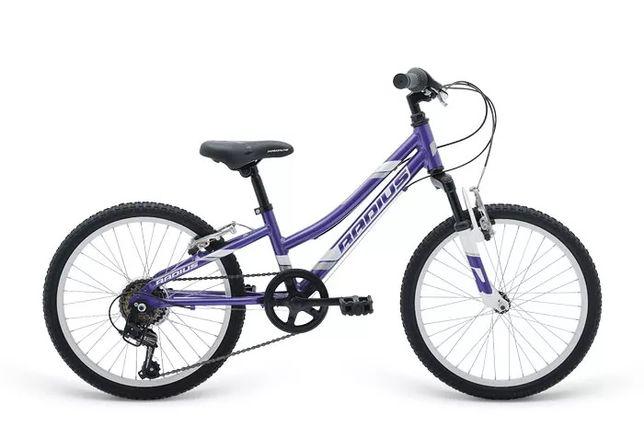 """Велосипед 20"""" Radius Ponyridge AL рама- 10.5"""" Gloss Purple/Gloss White"""