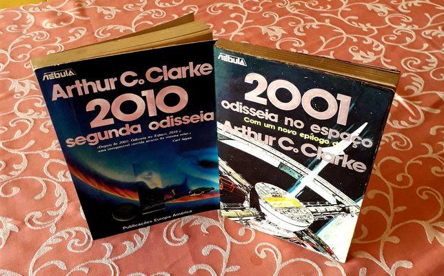 Arthur C. Clarke - 2001 Odisseia no Espaço/2010 Segunda Odisseia  PEA