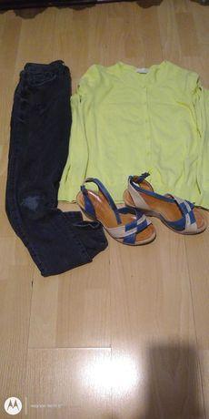 paczka ubrań S zamienię