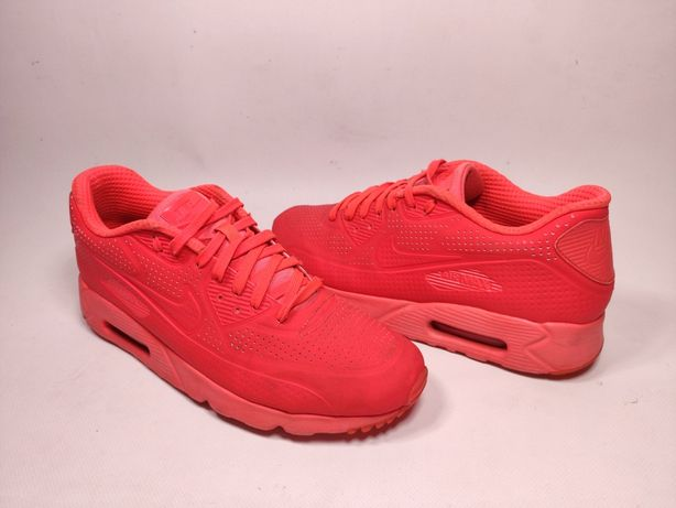 "Nike Air Max 90 Ultra Moire ""All Red"" (р.44,5) кросівки найк"