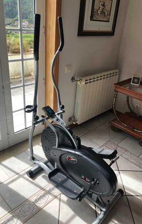 Bicicleta Elíptica com contador, como nova