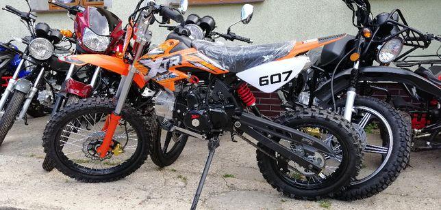 """Cross 125 cc YD 17"""" Nowy 2020 rocznik Raty na Dowód osobisty, transpo"""