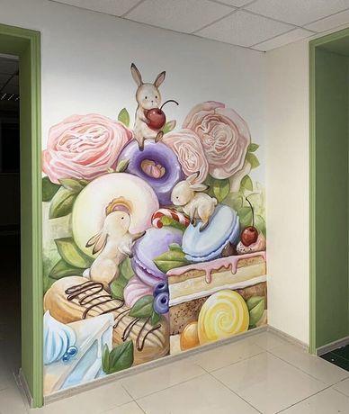 Роспись стен Кропивницький! Мы создаём Ваше настроение!