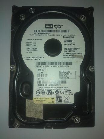 Dysk HDD WD  80 GB