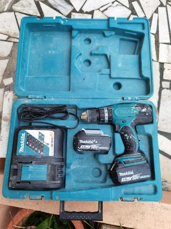 Berbequim bateria + acessórios Makita