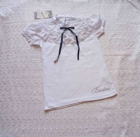 Нарядная футболка на девочку 140р