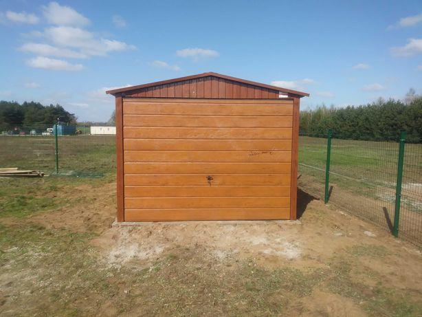 Garaż drewnopodobny 3x5 Gniezno