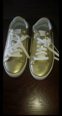 Buty Puma złote