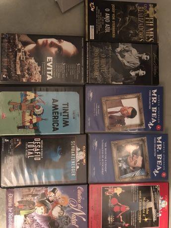 9 filmes novos VHS