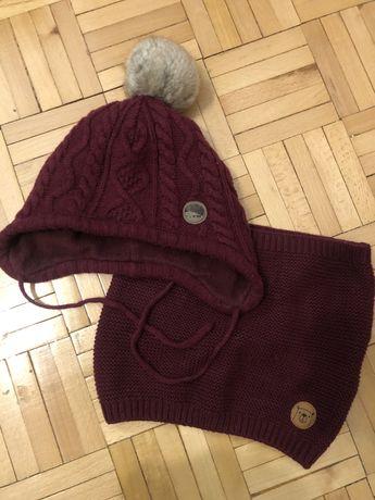 Komplet zimowy czapka i komin r. 86/92 H&M!
