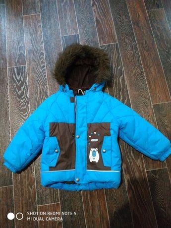Куртка зима LENNE мальчик р.98