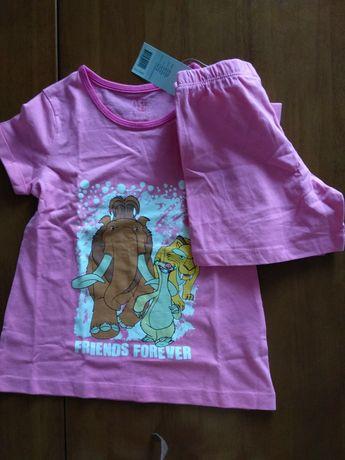 Пижама Lidl (туника+ шортики) на 2-4года, новая