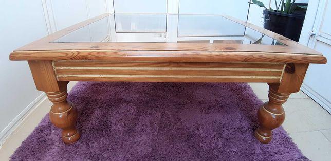 Mesa de centro madeira Maciça