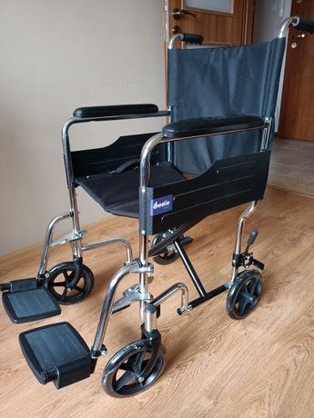 Wózek inwalidzki-transportowy