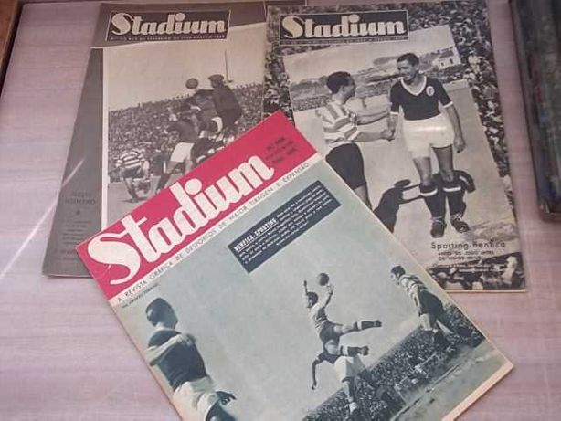 Revista STADIUM - BENFICA-SPORTING /SPORTING-BENFICA 1944/1945/1948