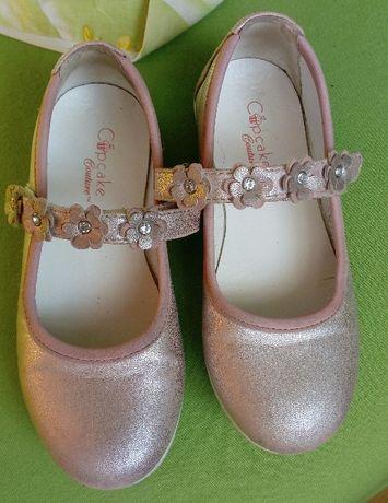 Buty półbuty baleriny balerinki rozmiar 27 cupcake