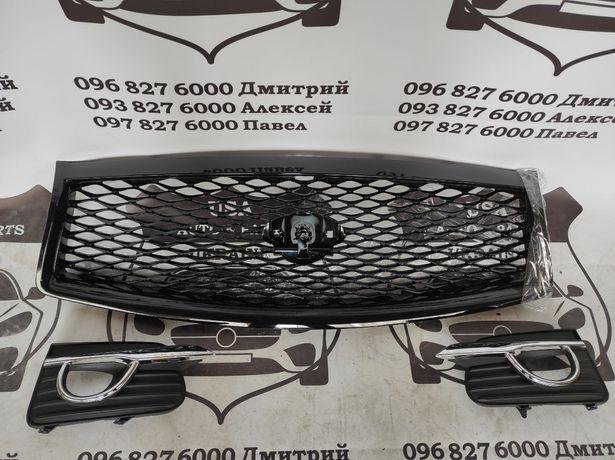 Infiniti Q50 2013-2017 решетка фары накладки птф заглушка