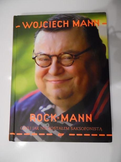 książka autobiografia: Wojciech Mann - Rock Mann